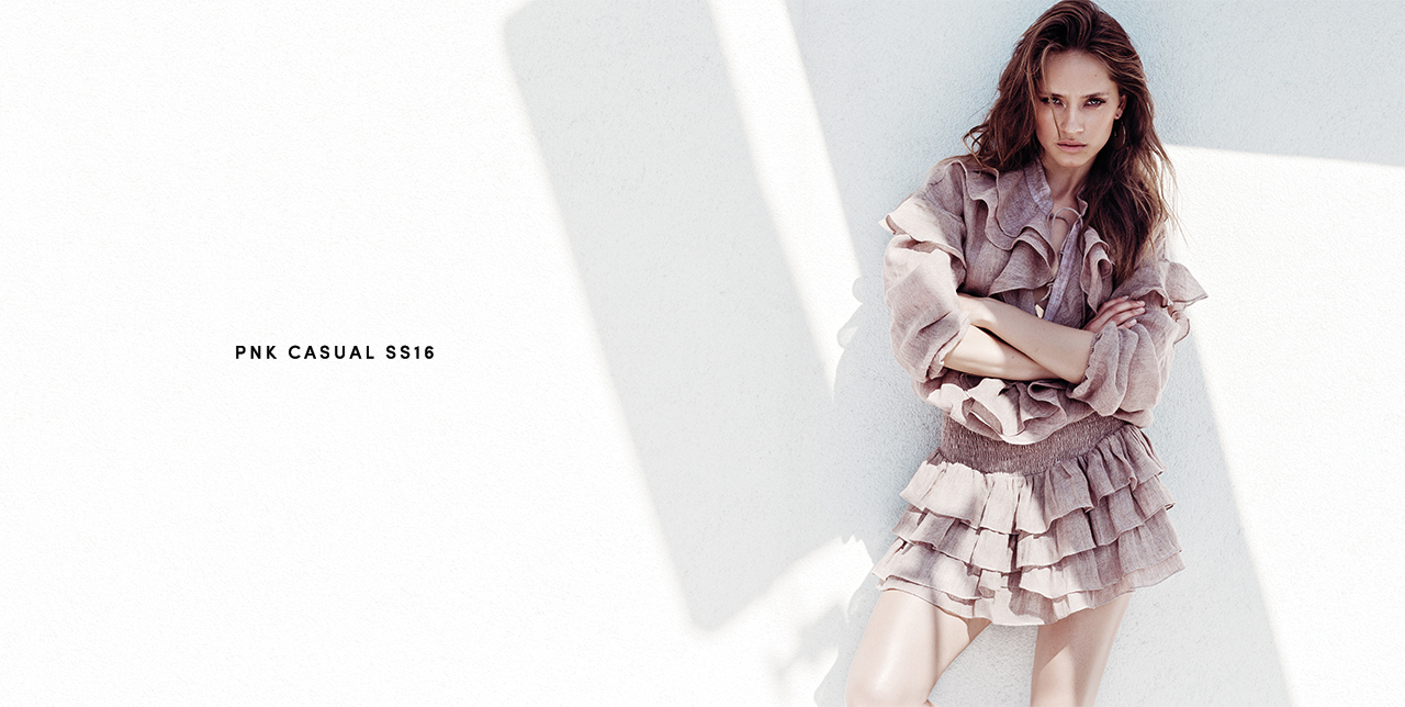 PNK casual Spring/Summer 2016 Collection - Limited Edition - June