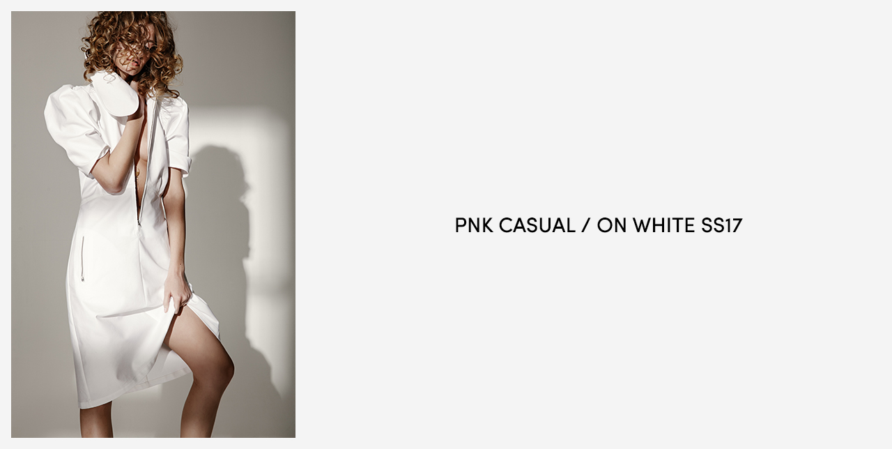 PNK Casual On White SS17