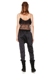 Black Chantilly Lace Top