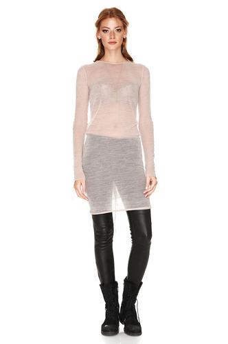 Rose Soft Wool Dress - PNK Casual