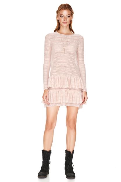 Rose Ruffled Dress
