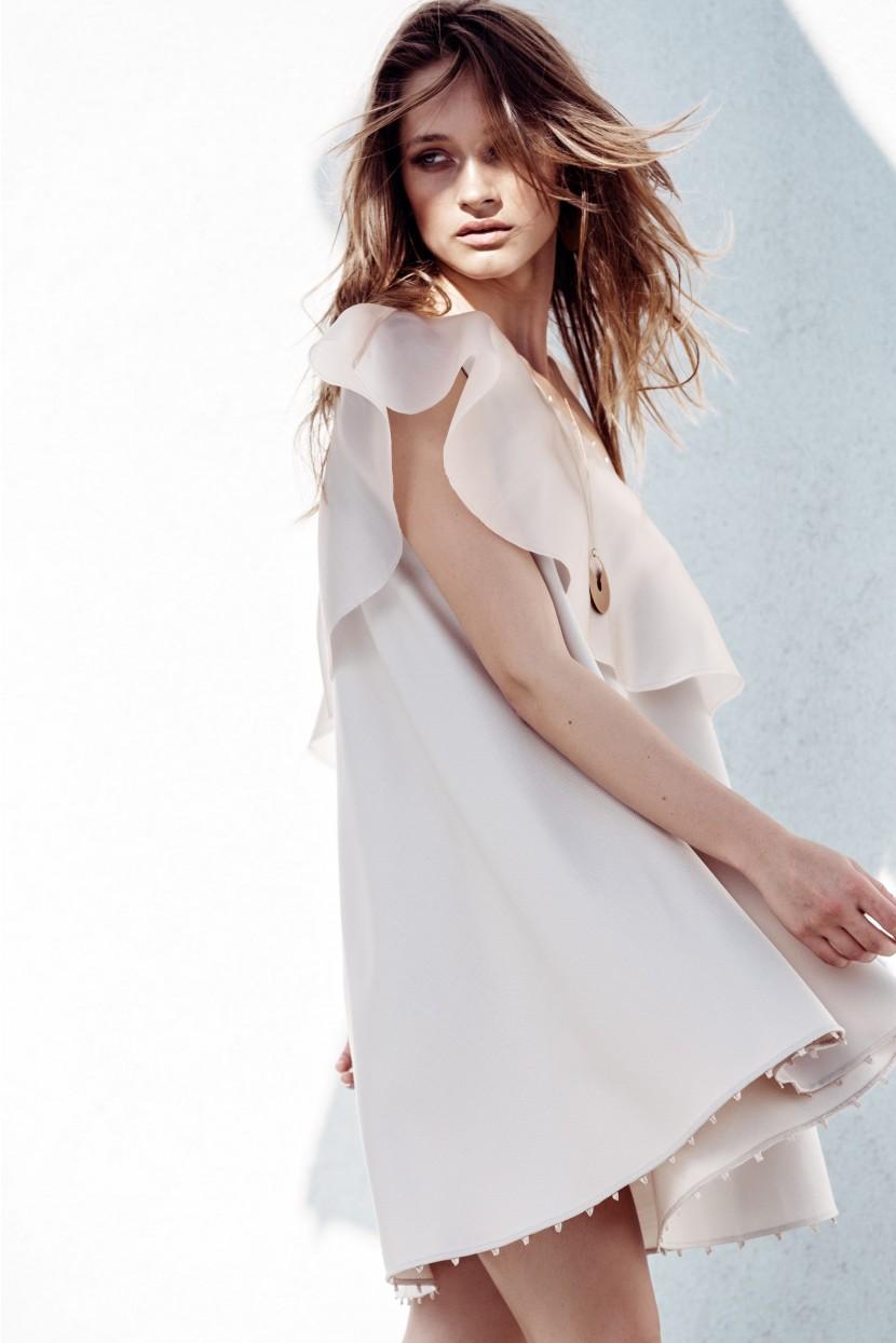 H&M Pastel Pink Mini Dress