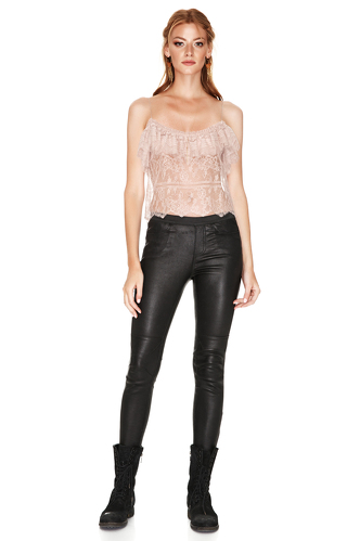 Rose Chantilly Lace Top - PNK Casual