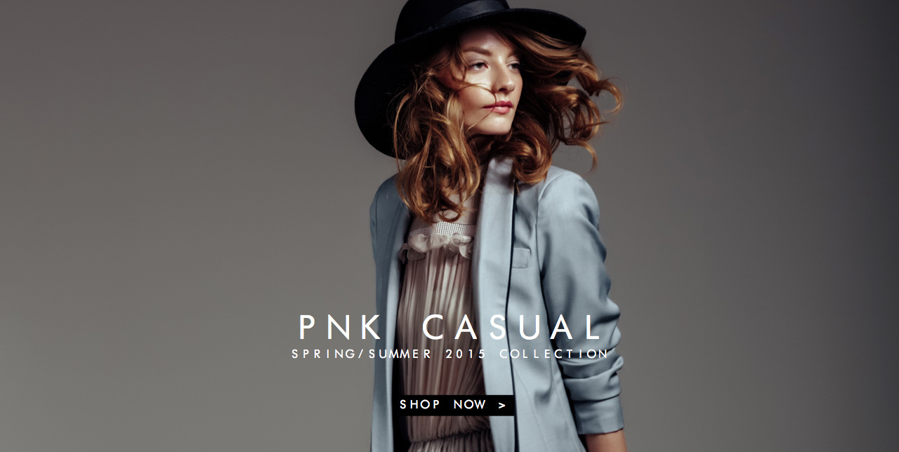 PNK casual Spring-Summer 2015 Collection