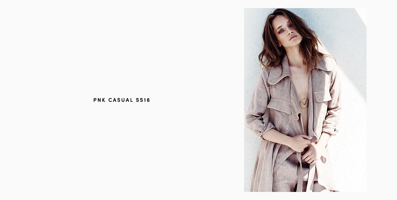 PNK casual Spring/Summer 2016 Collection - Limited Edition - 27