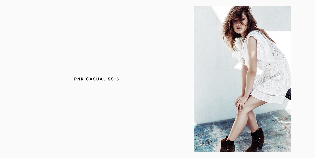 PNK casual Spring/Summer 2016 Collection - Limited Edition - 3